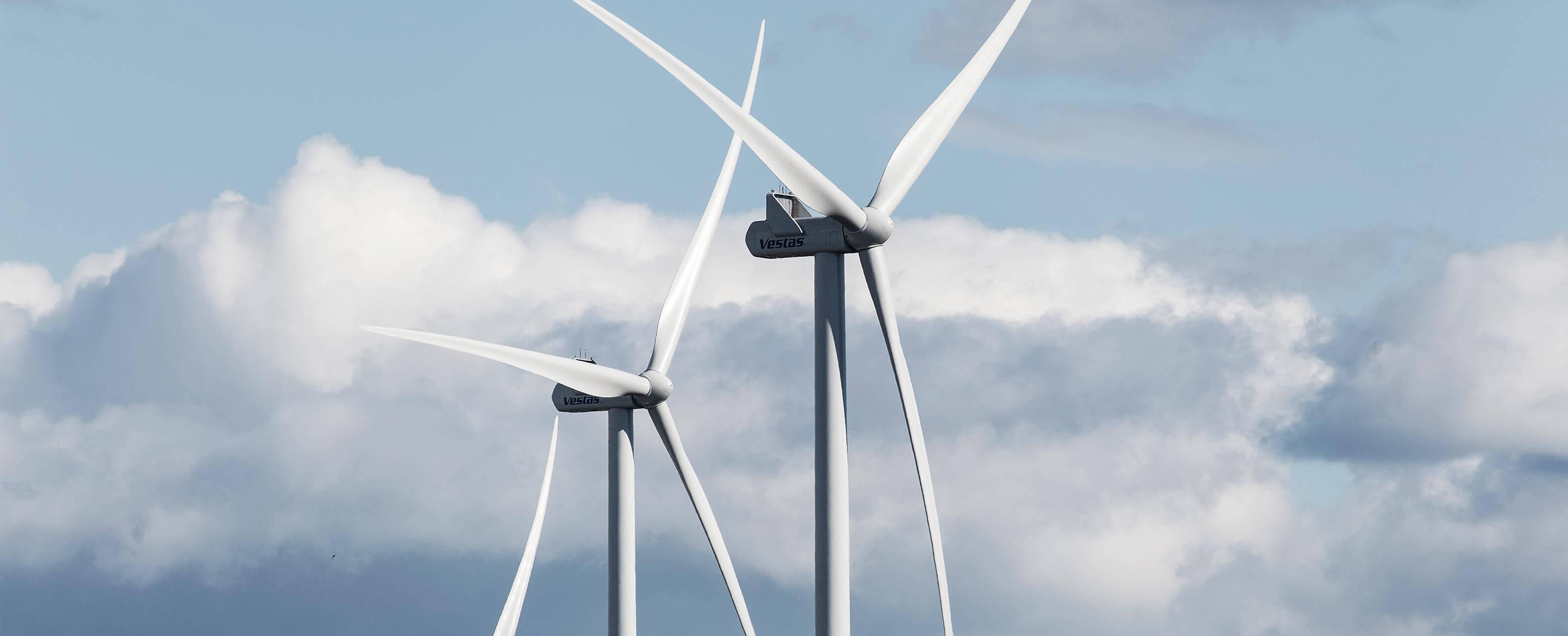 Vestas Levert Turbines Windpark Deil